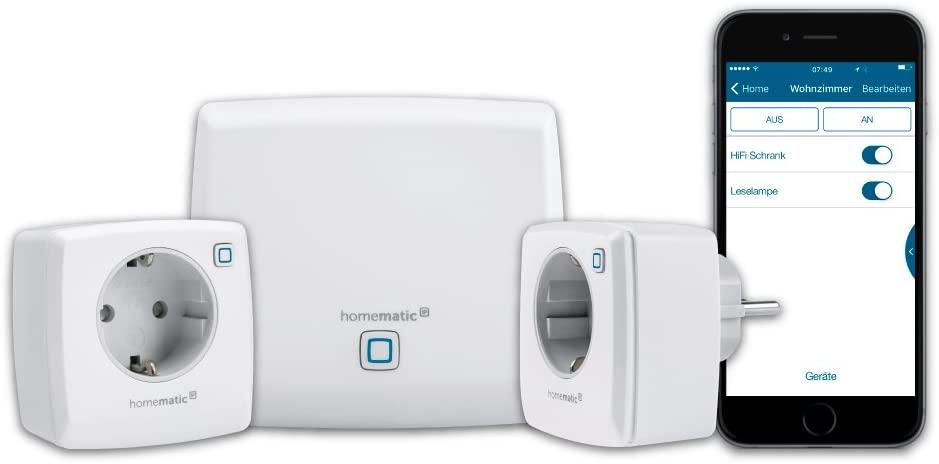Homematic IP Smart Home Starter Set Licht