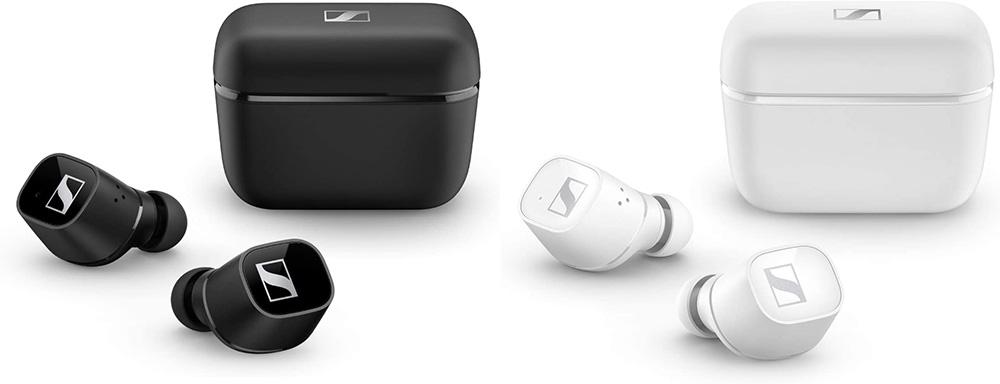 Sennheiser CX 400BT True Wireless in Schwarz und Weiß