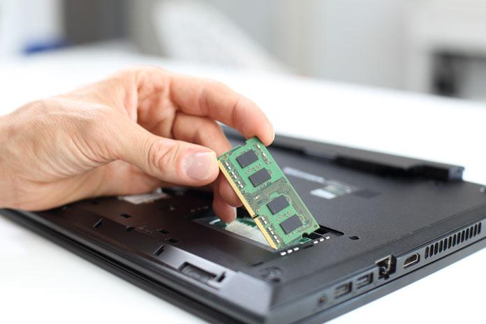 Arbeitsspeicher defekt Laptop