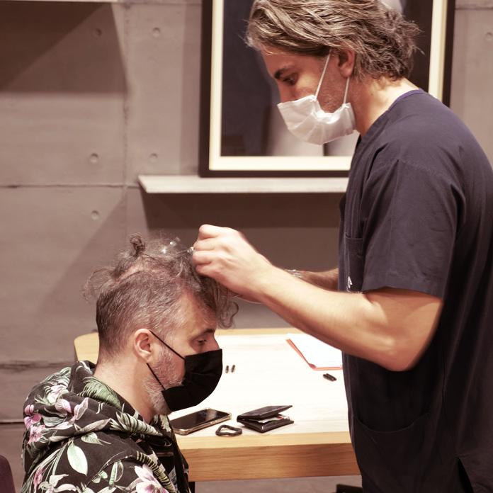Haartransplantation Vorgespräch