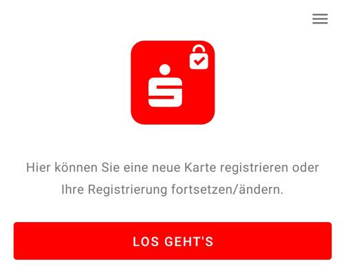 S-ID-Check Registrierungsvorgang