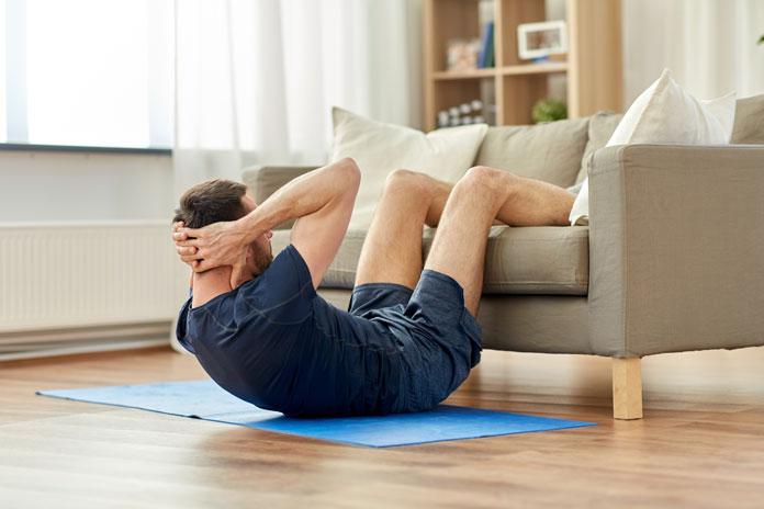 kurzes Workout