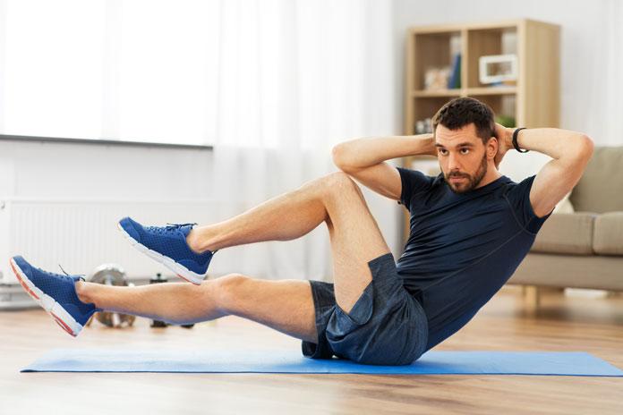 mittellanges Workout