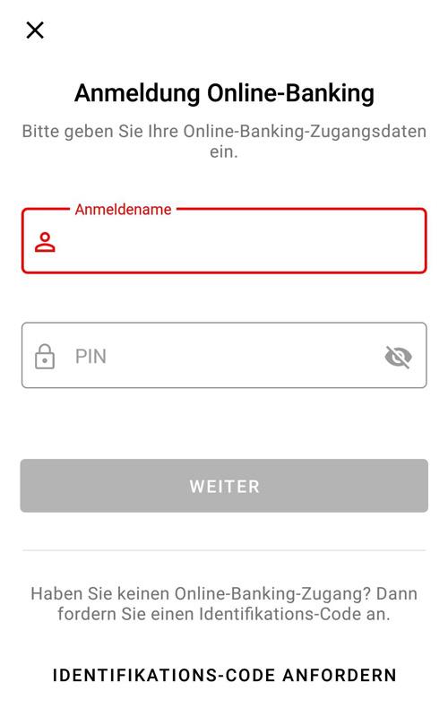 S-ID-Check Registrierung Anmeldung Online-Banking