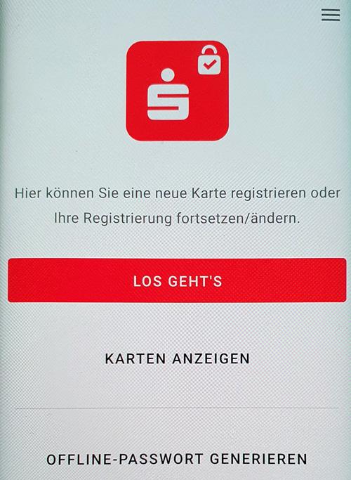 Offline-Passwort generieren