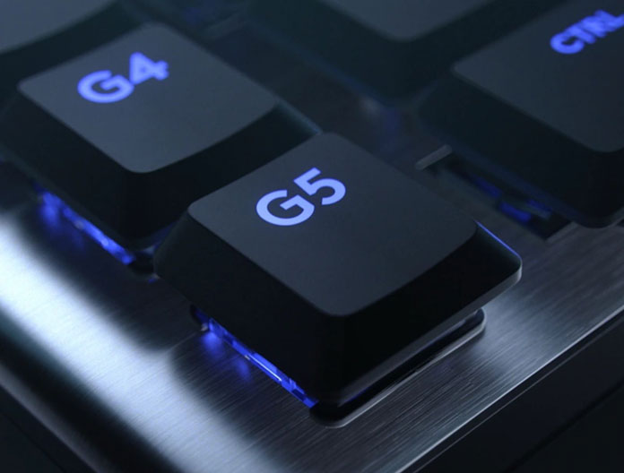 Logitech G815 Makros Tasten