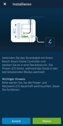 Bosch Smart Home Controller Installation