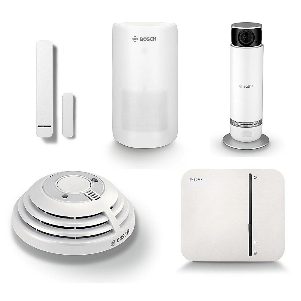 Bosch Smart Home Starter Set Sicherheit Plus inkl. Innenkamera 360°