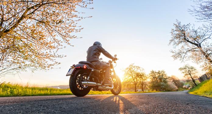 Motorrad frühlingsfit machen