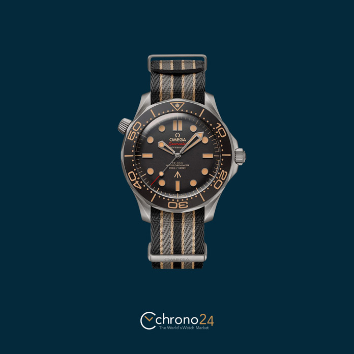 Omega Seamaster Diver 300 M 007 James Bond