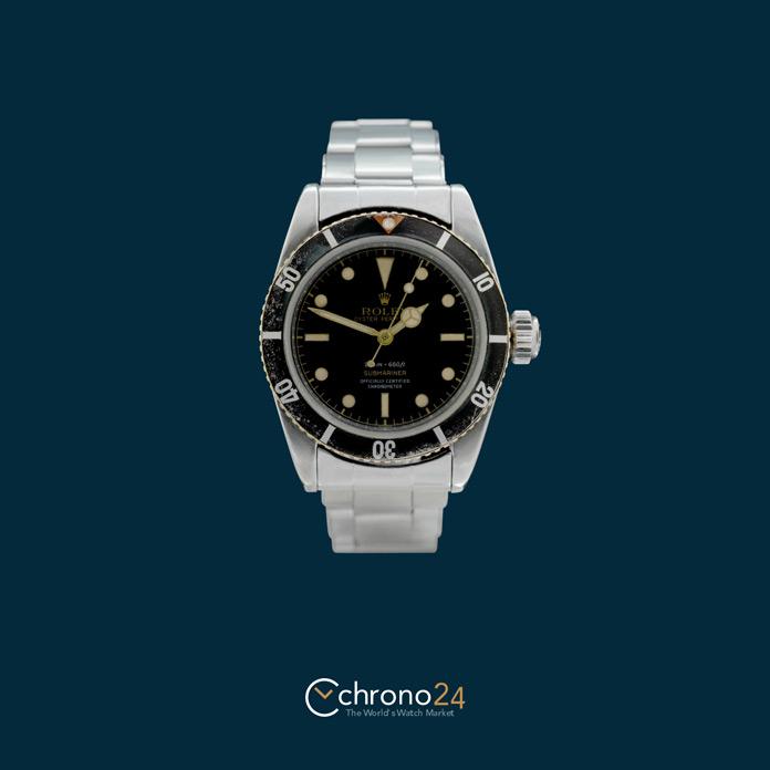 Rolex Submariner 6538 Big Crown