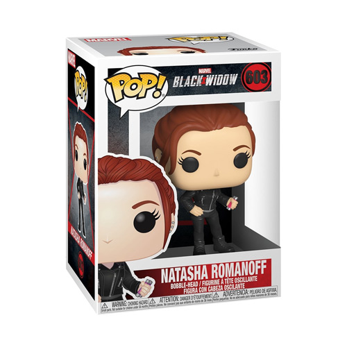 Black Widow Pop Figur