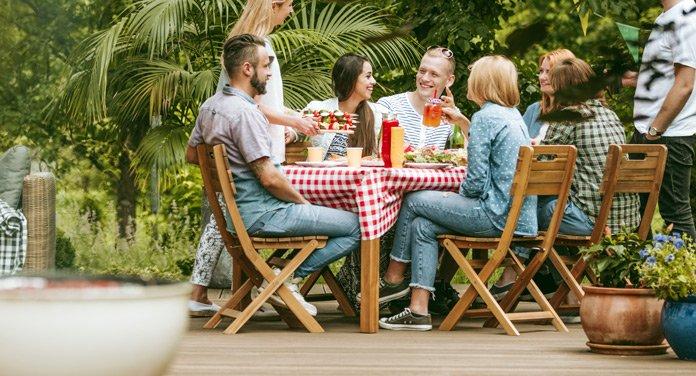 Mach deinen Garten fit für sommerliche Grillfeste