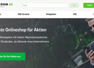 Anzeige: Vermögensaufbau und Investment mit der Plattform Freedom Finance