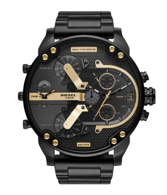 Uhrentrends schwarz gold