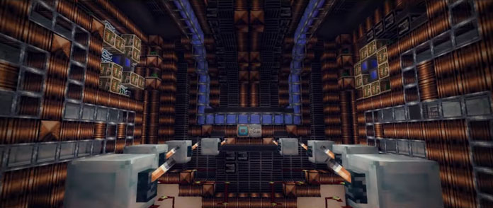 Minecraft Adventure Maps Deep Space Turtle Chase