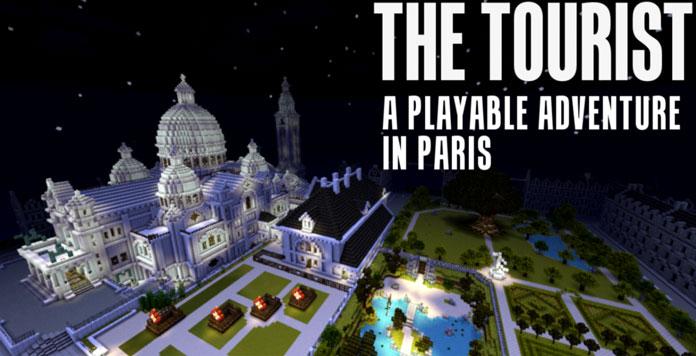 Minecraft Adventure Maps The Tourist