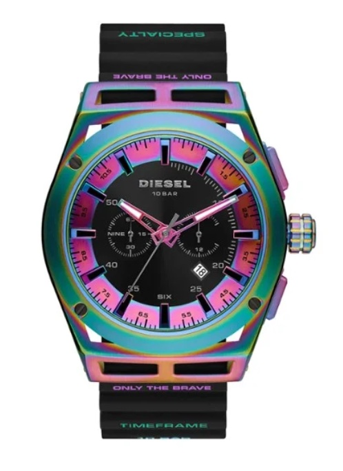 farbige Uhren