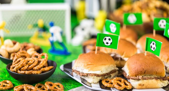 EM Fußball Party Essen