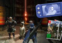 Gewinne eine Nintendo Switch Lite + Monster Hunter Rise!