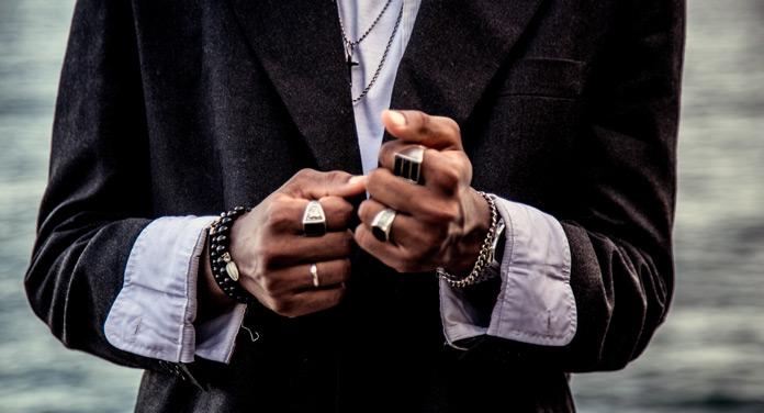 Ringe für Männer stylen