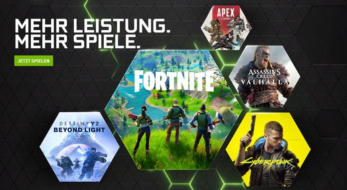 GeForce Now Gaming-Abo-Dienste