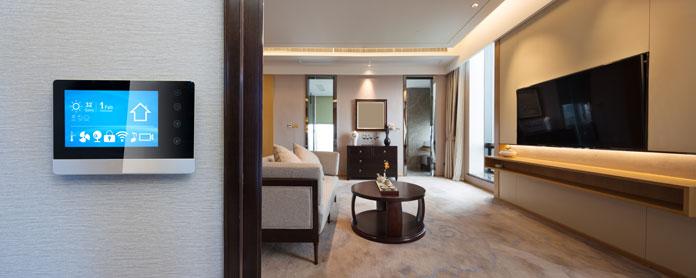 Smart-Home Wohnzimmer