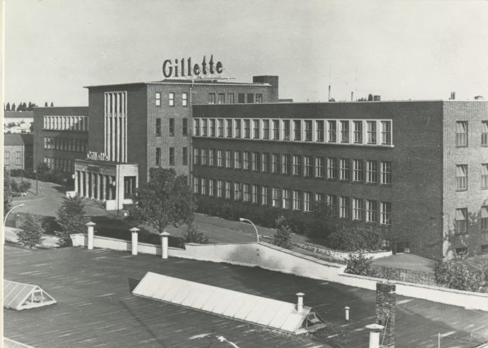 1937 Gillette Berliner Werk