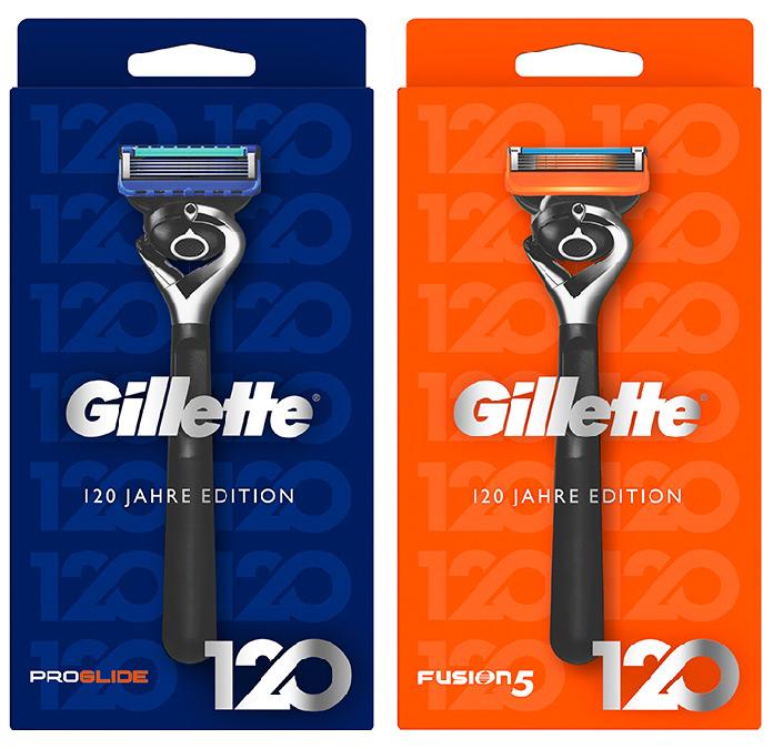 Gillette 120 Jahre Edition