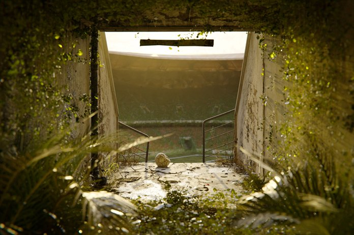 Lost Places - Stadion