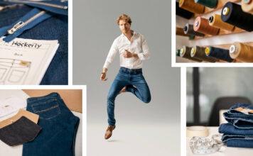 Hockerty Jeans maßgeschneidert