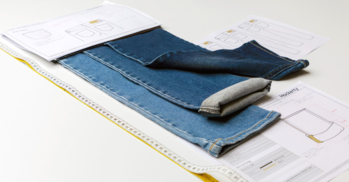 Hockerty Jeans Auswahl