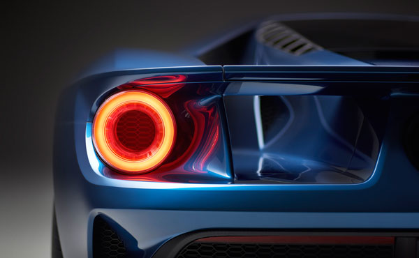 Der neue Ford GT Rücklichter