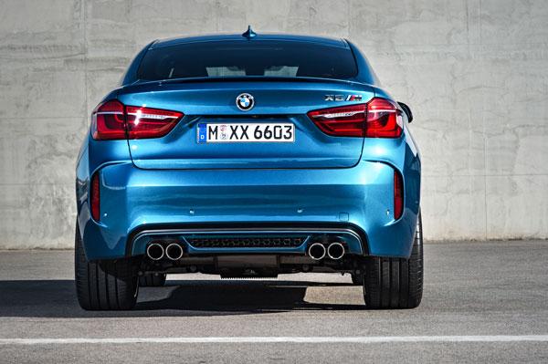 BMW X6M Heck