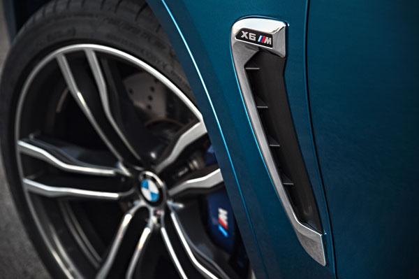 BMW X6M Kiemen