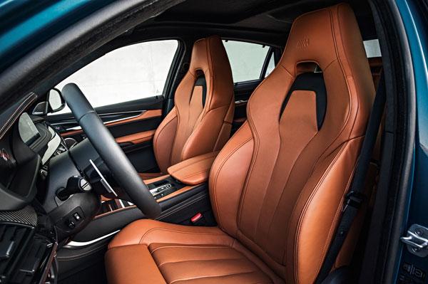 BMW X6M Sportsitze