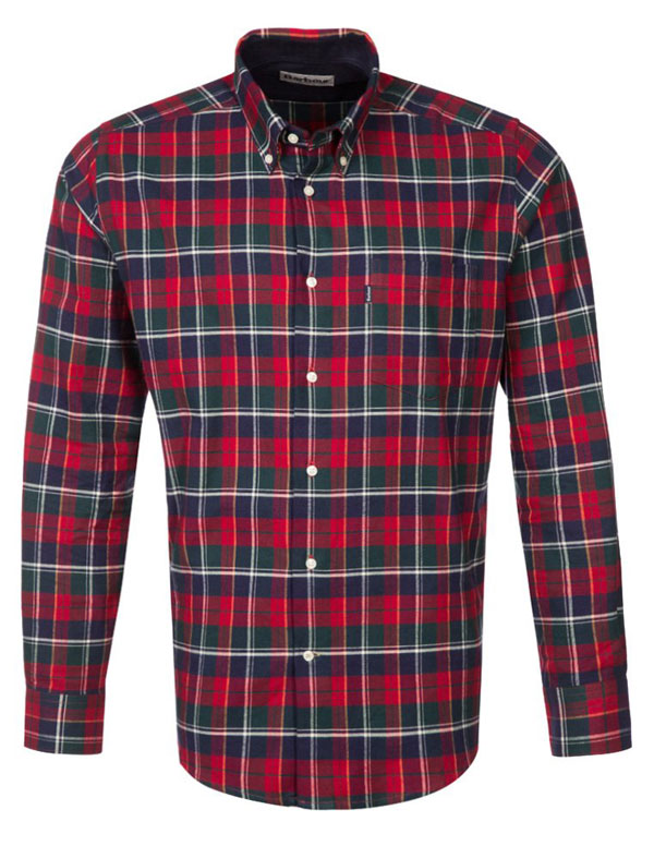 Barbour CASTELBAY Hemd - rich red - 99,95 €