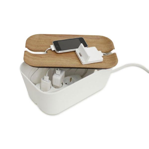 Bosign Kabelbox und Ladestation HIDEAWAY medium wenge/white - EUR 32,00