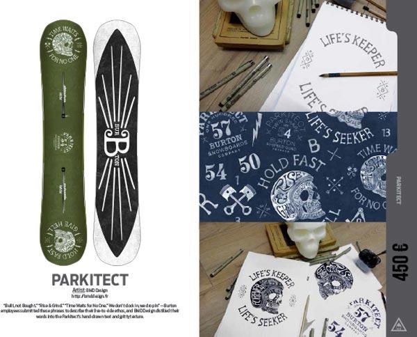 Snowboard Parkitect