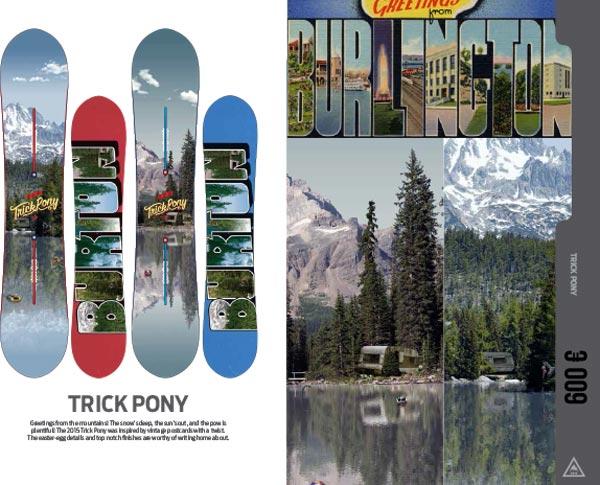 Burton Snowboard Trick Pony