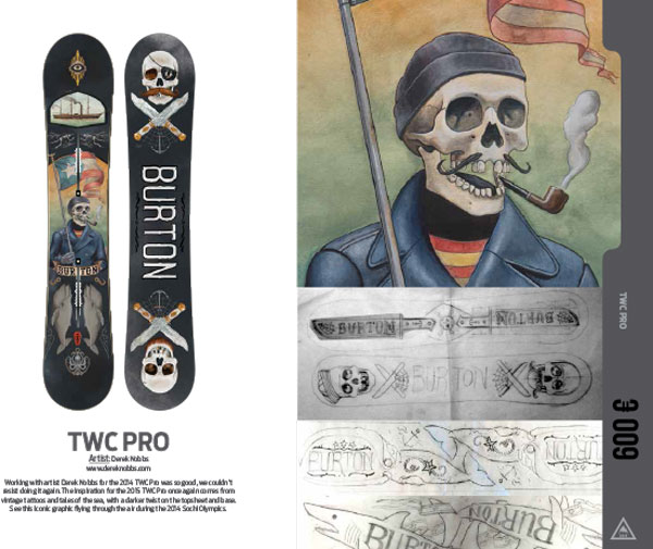 Burton Snowboard Twc Pro