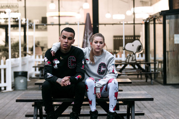 Gang Patch Sweat Black  Man: Gang Patch 82,90 €  Sweat Grey 82,90 € Woman: Snoopy House  leggings 54,90 €