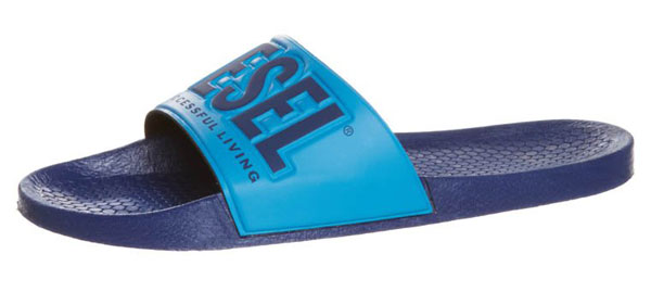 Diesel Badesandale - twilight blue - 29,95 €