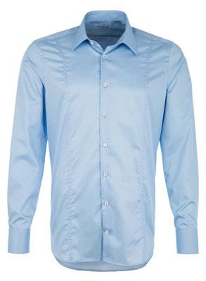 Hemd-blau