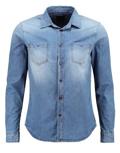 Jeans-Hemd-von-Sisley