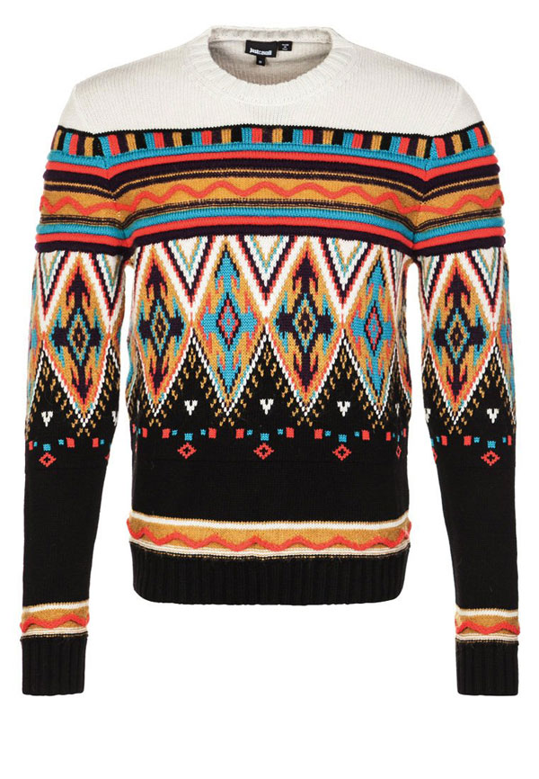 Just Cavalli Strickpullover - bunt