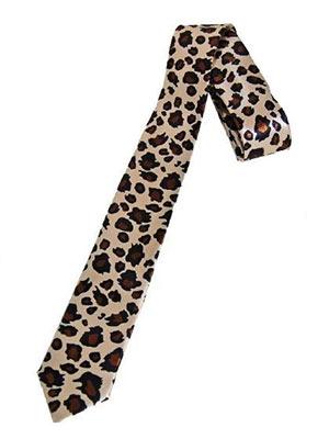 Krawatte_Leopard