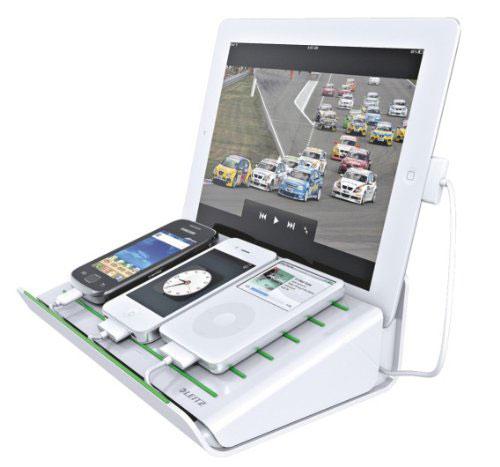 Leitz 62640001 Multi-Ladestation Complete für Mobilgeräte weiß