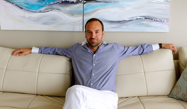 Milliardär Mark Shuttleworth