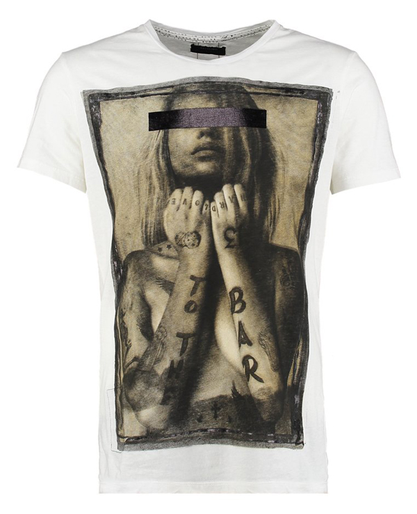 Religion TO THE BAR - T-Shirt print - white